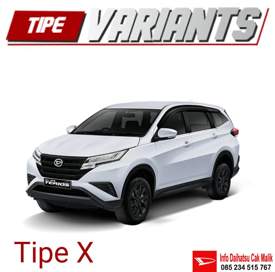 Dealer Daihatsu New Terios Tipe X Kediri Tulungagung Blitar