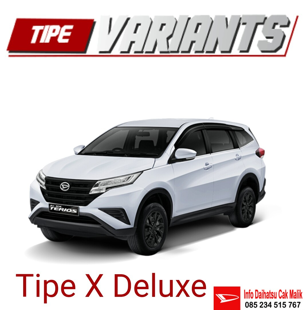 Dealer Daihatsu New Terios Tipe X Delux Kediri Tulungagung Blitar